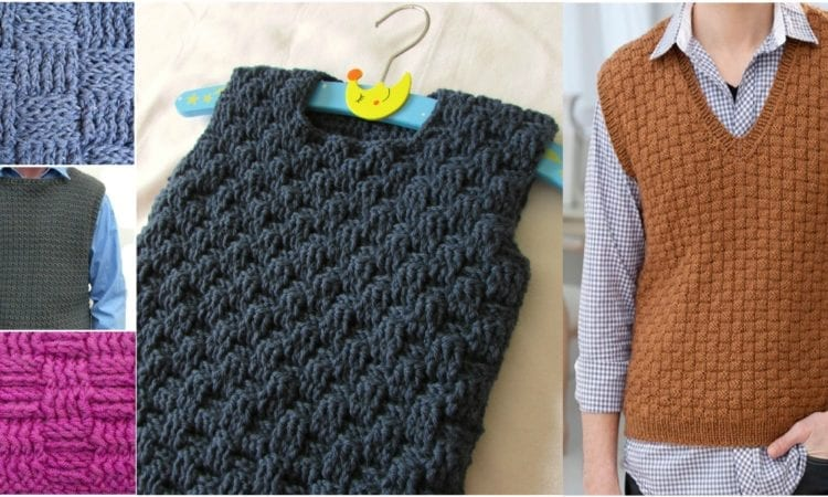 eabc36c34 How To Crochet straightforward Cable Weave Vest