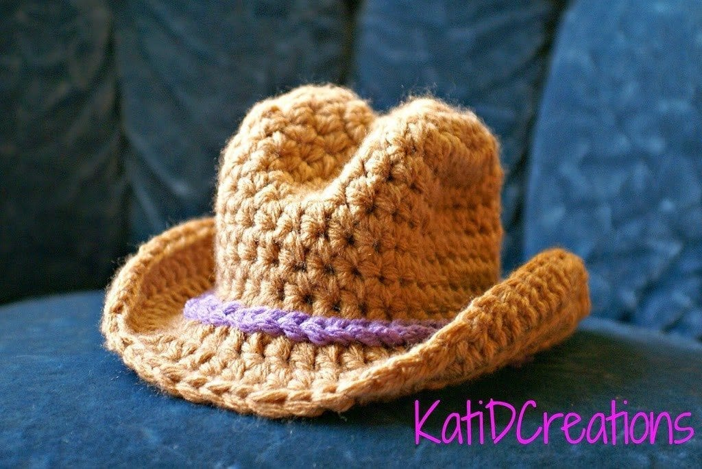 How To Crochet Cowboy Hat Free Pattern Your Crochet