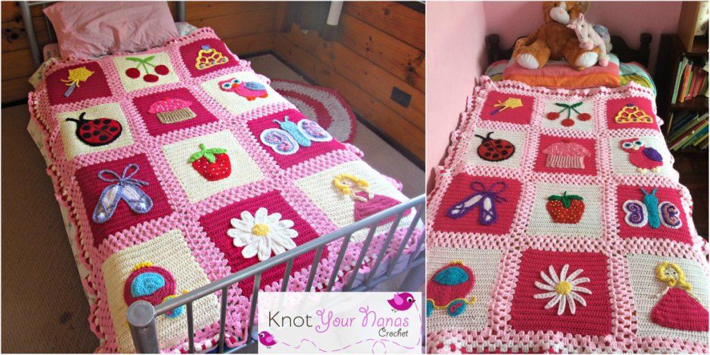 Little Blossom's Blanket Bedspread yourcrochet.com