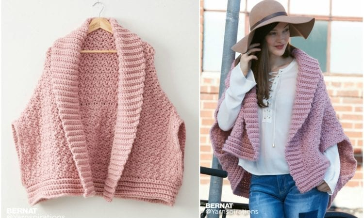 7db3e31d7 Origami Crochet Cardigan Sweater