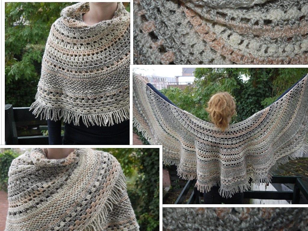 Lagniappe Crochet Shawl  Free Pattern