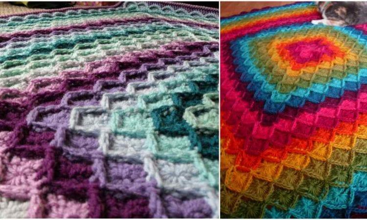 Wool Eater Afghan Or Blanket Free Crochet Pattern Your