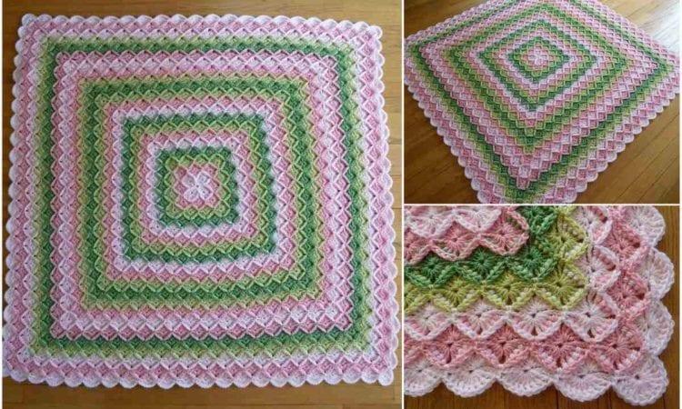 Bavarian Blanket For Babies Free Crochet Pattern Your Crochet