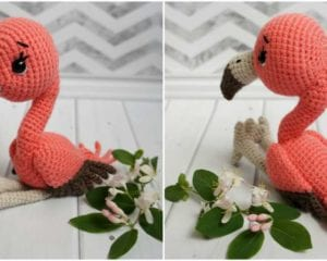 Flamingo Baby Amigurumi Free Pattern Your Crochet