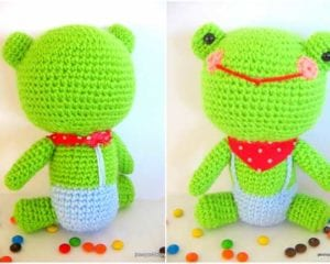 Mr. Frog - Free Amigurumi Archives - Your Crochet