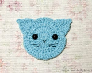 Applique Cat Free Pattern Your Crochet