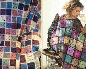 Bohemian Oasis Blanket Free Pattern