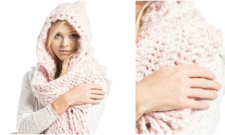 Hooded Scarf Free Crochet Pattern Your Crochet