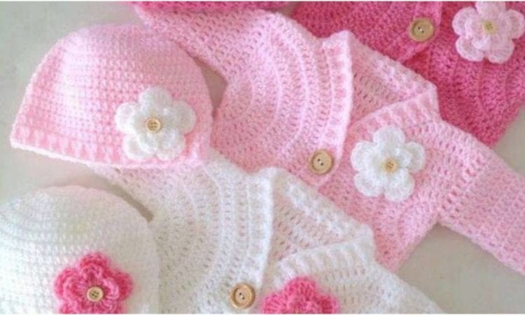 Simple Baby Bolero Cardigan Free Pattern | Your Crochet