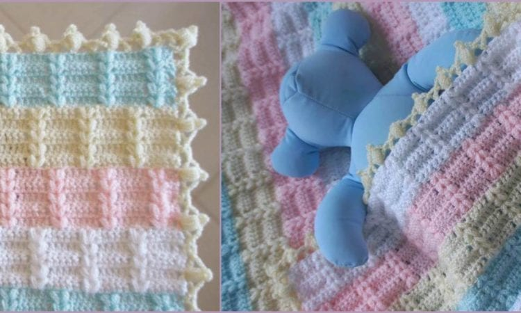 Nicole Baby Blanket Free Pattern And Tutorial Your Crochet