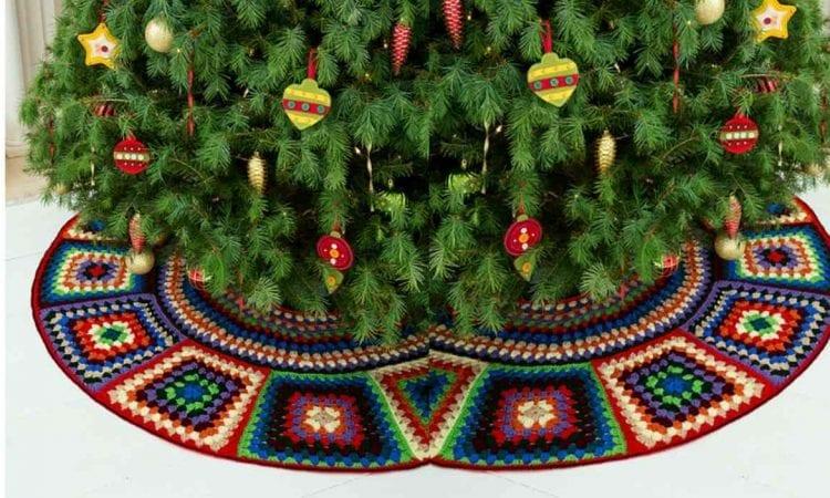 Granny Tree Skirt Free Crochet Pattern Your Crochet