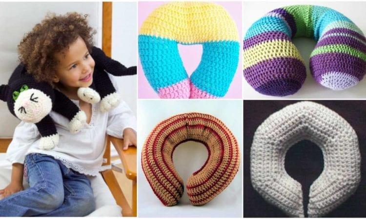 Kids Neck Travel Pillow Free Crochet Patterns Your Crochet