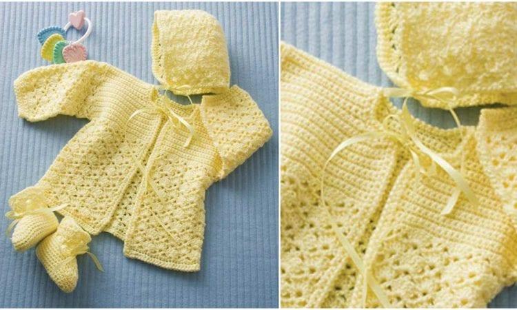 Lemon Drop Baby Set Free Crochet Patternlemon Drop Baby Set Free