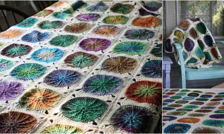 Sunny Spread Blanket Free Crochet Pattern