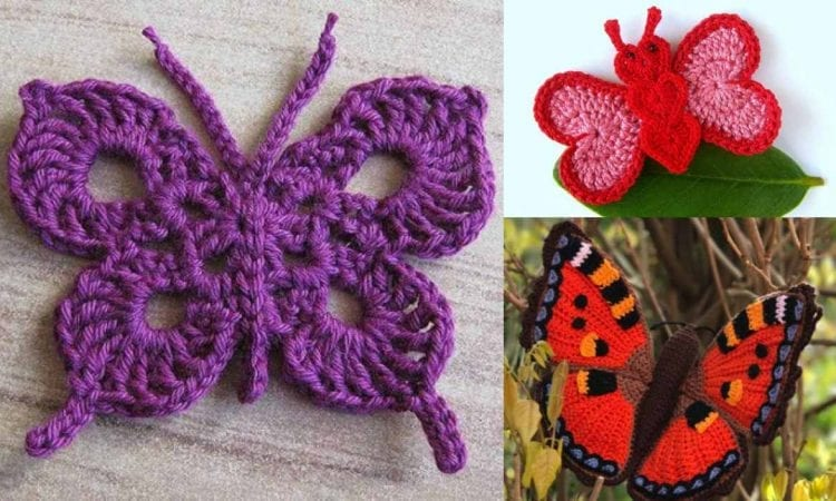 The Best 10 Butterfly Motifs And 7 Crochet Patterns Free Your Crochet