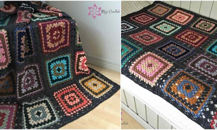 Trillian Granny Square Blanket Free Crochet Your Crochet