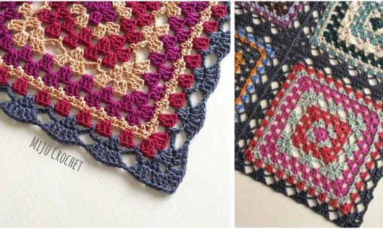Trillian Granny Square With A Twist Free Crochet Pattern Your
