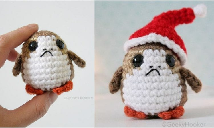 Amigurumi Porg From Star Wars Free Pattern Your Crochet