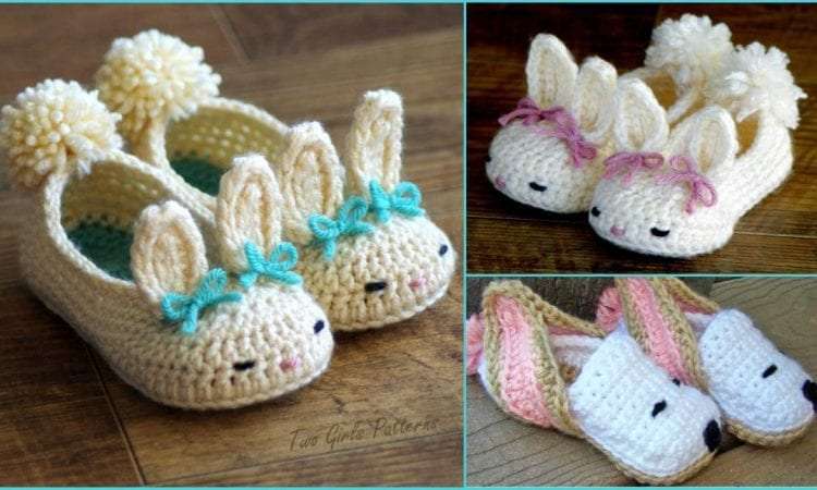 Baby Bunny Slippers Free Crochet Patterns Your Crochet