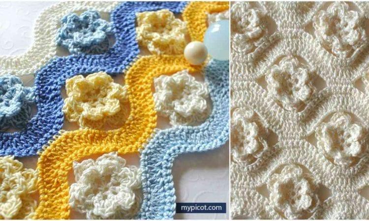 Flower Wave Stitch Free Pattern