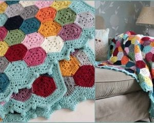 Weekender Blanket Throw Free Pattern