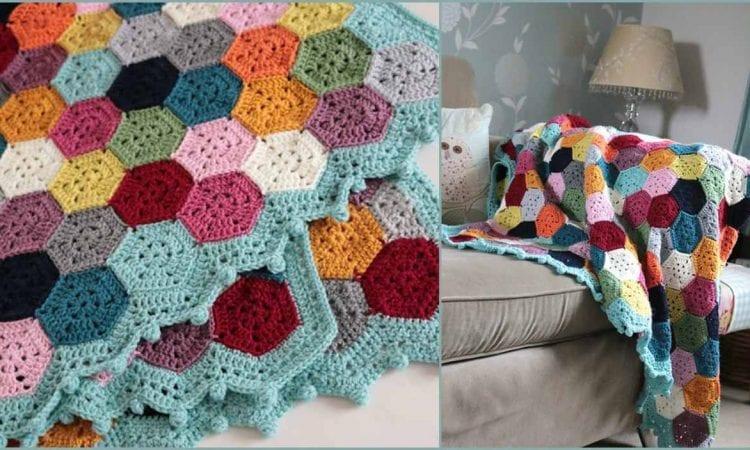 6a92fcc5f Weekender Blanket Free Crochet Pattern