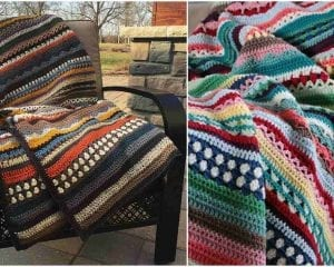 Spice of Life Blanket Free Pattern