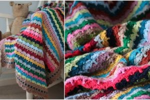 Spice of Life Blanket Free Crochet Pattern