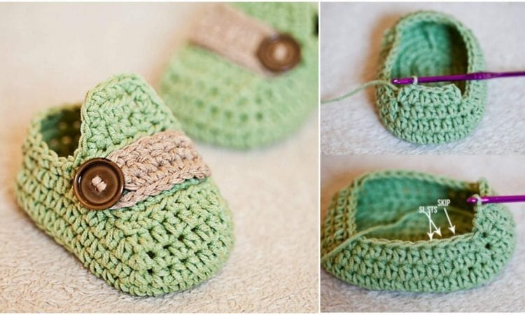 Baby Moccasins Free Crochet Pattern Your Crochet
