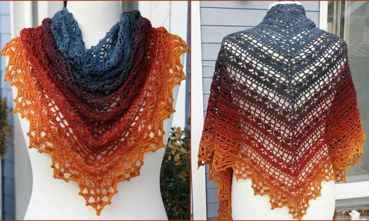Bruinen Shawl Free Crochet Pattern Your Crochet
