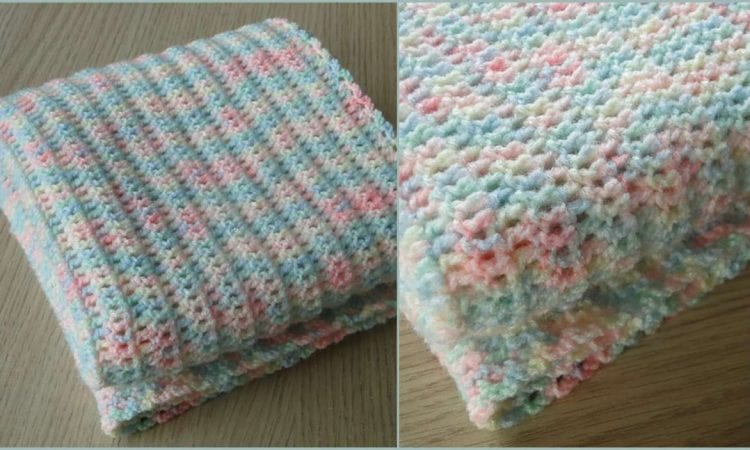 Easy Baby Blanket Free Pattern Your Crochet