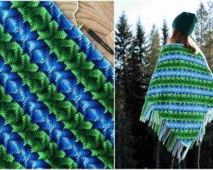 Nomad by Fate Triangle Wrap Free Pattern