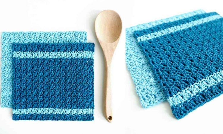 Primrose Dishcloth Free Crochet Pattern