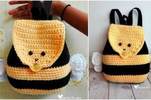 Bumble Bee Backpack Fee Pattern