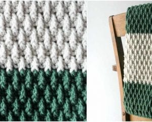The Alpine Baby Blanket Free Pattern