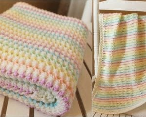 Starlight Baby Blanket will be perfect for spring.