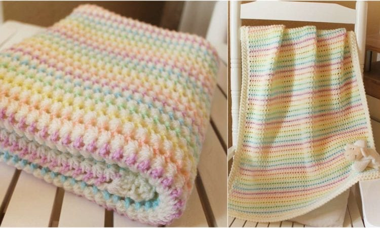 photo regarding Free Printable Knitting Patterns for Baby Blankets identify Starlight Little one Blanket Free of charge Crochet Routine Your Crochet