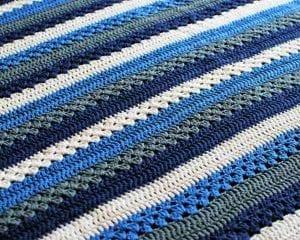 Tasmanian Baby Blanket Free Pattern