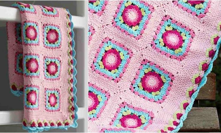 Lydia Blanket Free Crochet Pattern