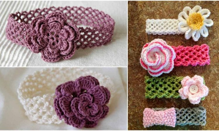 Genius Headband with Flower Free Pattern