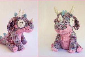 Orbit the Dragon Free Crochet Pattern