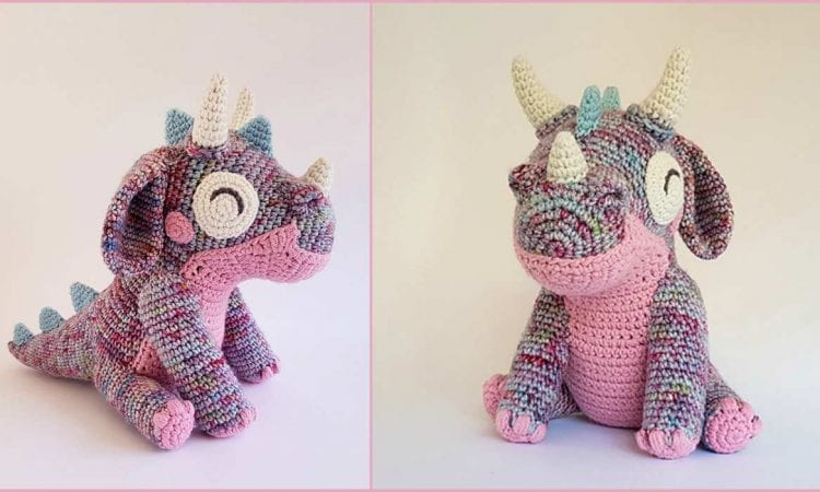 Orbit the Dragon Free Crochet Pattern