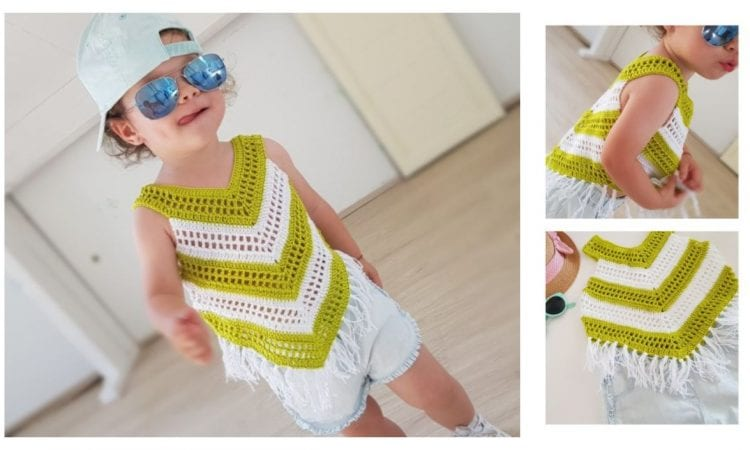Little Girl Top Free Crochet Pattern