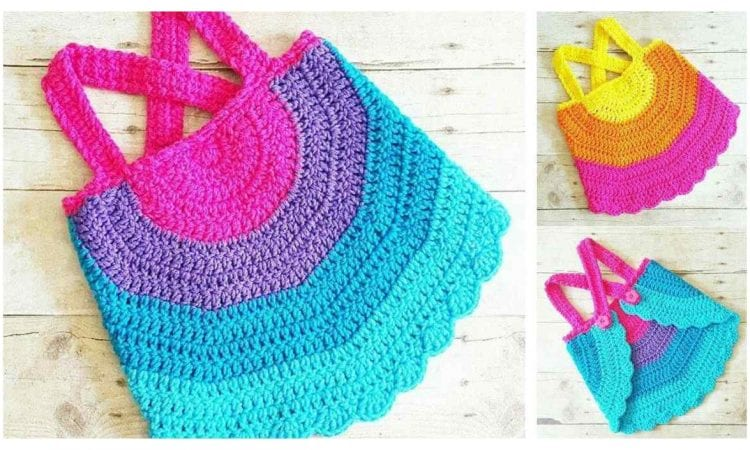 Child Swing Top Free Crochet Pattern