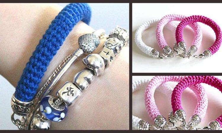 Elegant and Quick Bracelet Free Crochet Pattern
