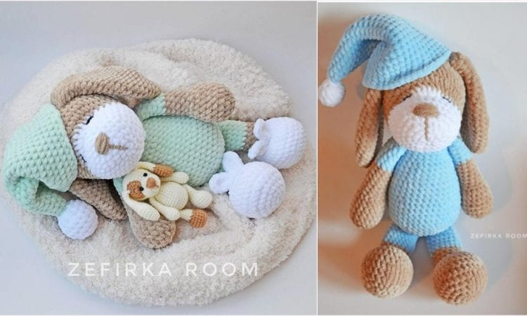 Sleeping Dog Amigurumi Free Crochet Pattern Your Crochet