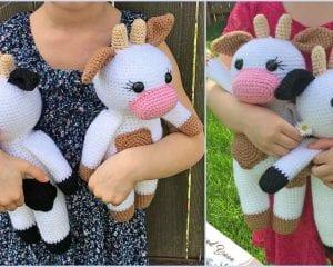Amigurumi Cow Free Crochet Pattern
