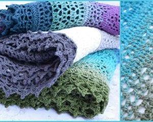 Grinda Shawl Free Crochet Pattern