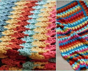 Larksfoot Blanket Free Crochet Pattern