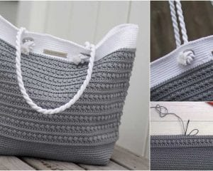 Malia Shoulder Bag Free Crochet Pattern